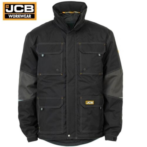 JCB BAMFORD Waterproof Windproof Breathable Removable Lining Work Jacket Coat SZ