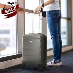 Aerolite-Ryanair-easyJet-Cabin-Carry-On-Hard-Shell-Luggage-Cabin-Bag-Suitcase