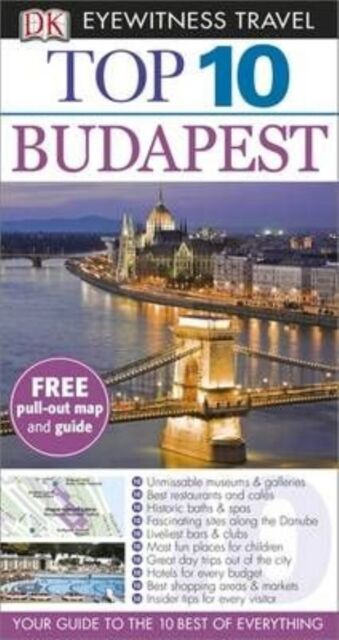 Budapest (DK Eyewitness Top 10 Travel Guide)-ExLibrary