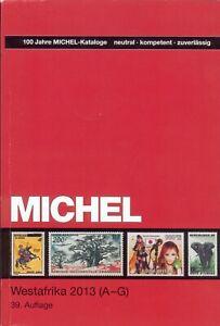 Michel-Briefmarken-Katalog-Westafrika-A-G-2013-39-Auflage-732-Seiten