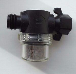"""SHURflo WATER PUMP FILTER STRAINER 1//2/"""" Half Inch Thread connector Part 255-215"""
