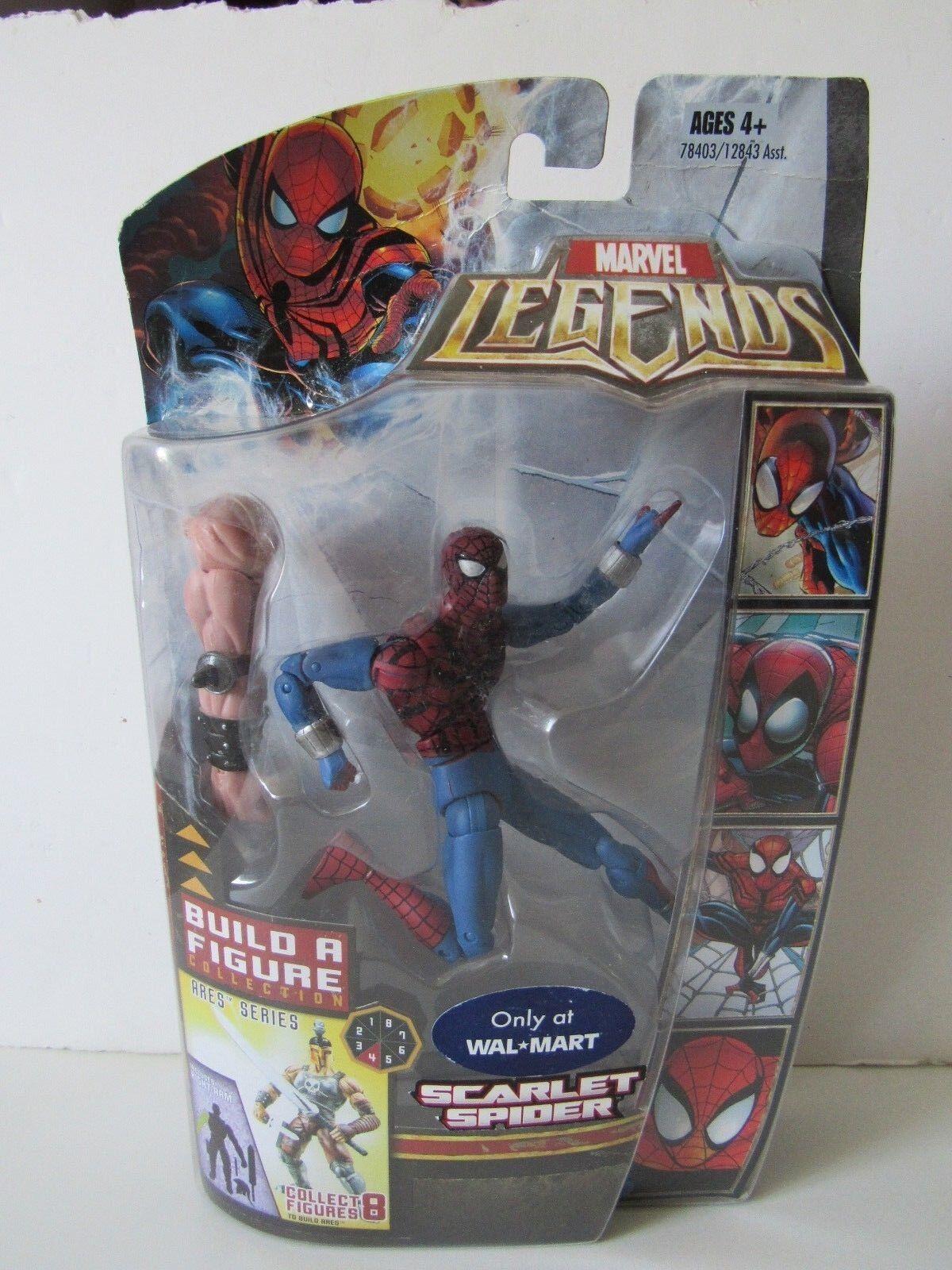 Marvel Legends Walmart Exclusive Ares Baf Scarlet Spider Man Action Figure NIP