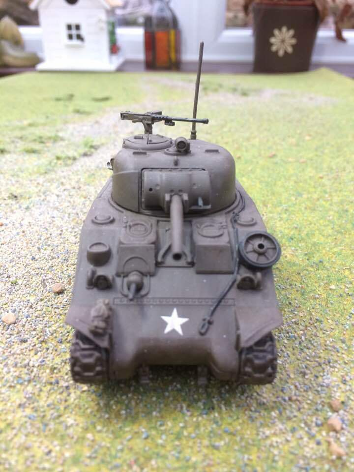 Warlord, Bolt Action US Sherman Sherman Sherman Tank, Pro Painted to order. ee9803