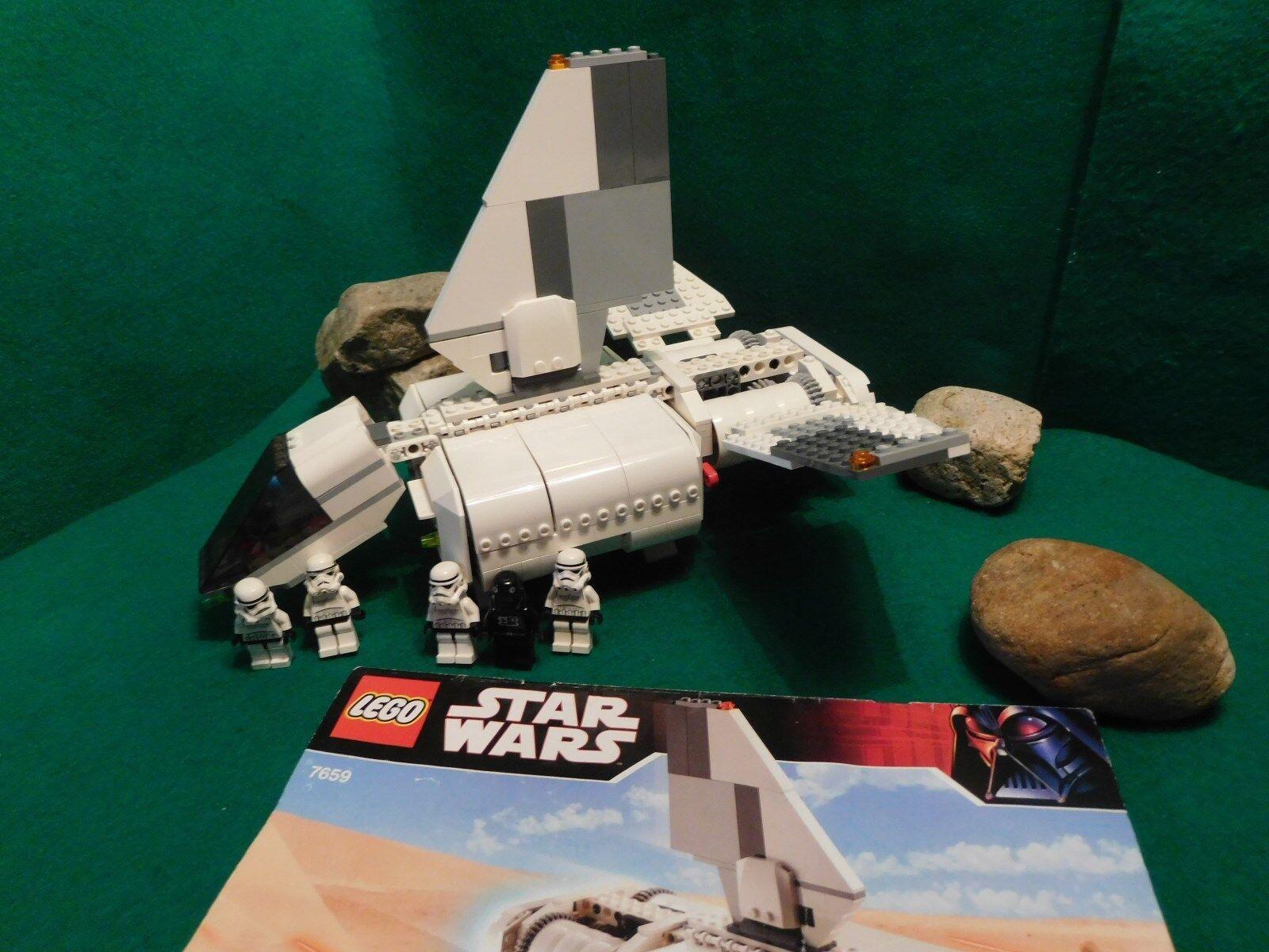 Lego Star Wars 7659-imperial Landing Craft-completo-de 2007 nave espacial