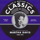 The Chronological Martha Davis 1946-1951 * by Martha Davis (CD, Feb-2005, Classics)