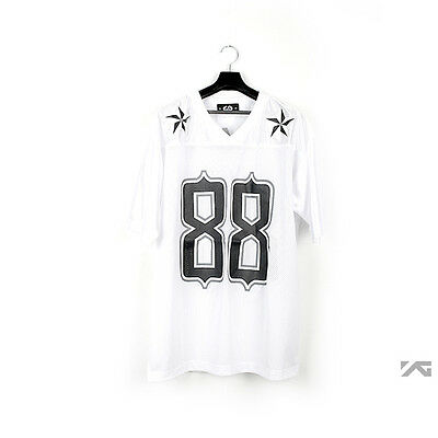 YG eshop /BigBang:G-Dragon 2013 One Of A Kind 88 Football T-shirt (Black,White)