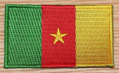 CAMEROON Flag Embroidered PATCH Badge