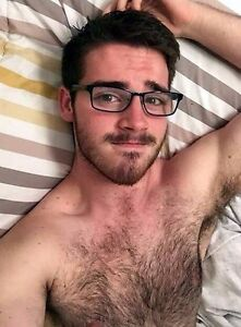 Hairy man armpits