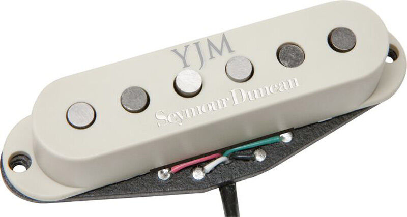 Seymour Duncan YJM Fury STK-S10 Bridge Single Coil - Off-Weiß