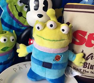 Disney Authentic Toy Story Alien Plush Doll 8 Mini Bean Bag Plush