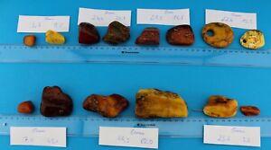 Posten-ROH-Bernstein-Amber-butterscotch-Raw-Stone-LOT-334-5-Gramm