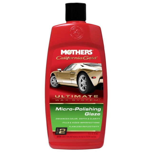 Mothers California or Micro-Polissage Glaze Ultimate Cire Système Step 2