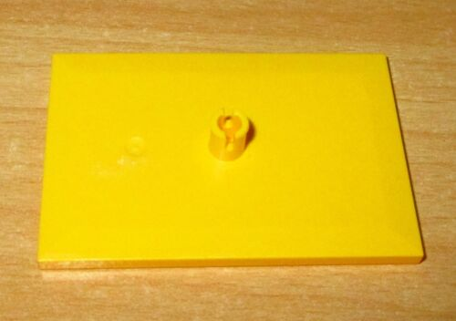 Lego City 9V Eisenbahn 1x Drehgestell Drehteller Bogie Platte 6x4 4025 in Gelb