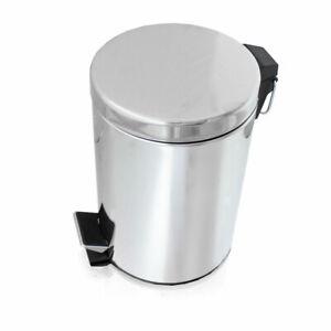 BITUXX Abfalleimer Kosmetikeimer Mülleimer Treteimer Badeimer 3 Liter Küche Bad