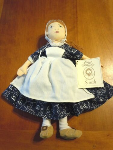 Colonial Williamsburg Sarah w/ tags 1996 MerryMakers Revolutionary War Doll Toy