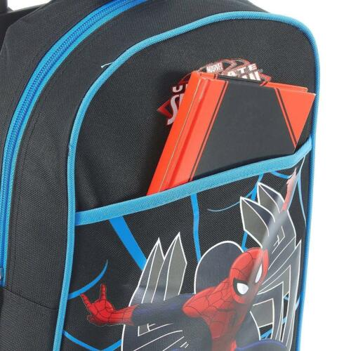 Marvel SpiderMan Kindertrolley Trolley schwarz rot Fabrizio 20335-0102
