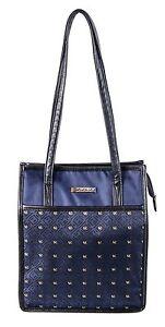 Simon Chang Lunch Bag Insulated Box Handbag Tote For Woman Blue  NWT
