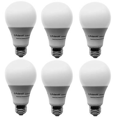 6-Pk. Polaroid Dimmable 20W LED Lumens Bulb