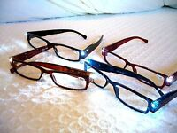 Reading Glasses W/ Led Lights..now In 4 Colors..amazing What U Can Do With These