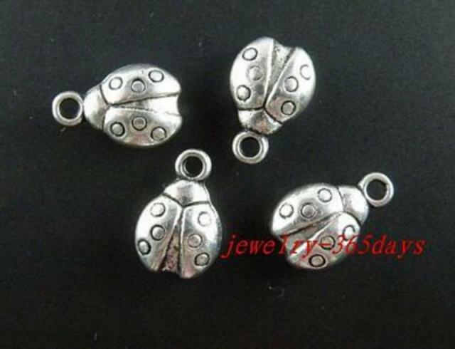 40pcs Antique Tibetan Silver Seashell and Starfish pendants//charms 14x18mm