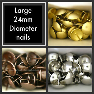 Large-24mm-diameter-headed-upholstery-nails-Furniture-fabric-studs-tacks-pins