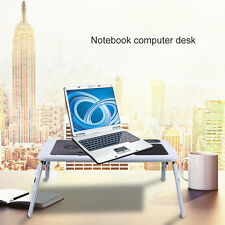 Portable Folding Laptop Desk Adjustable Computer Table Stand Tray For Bed S