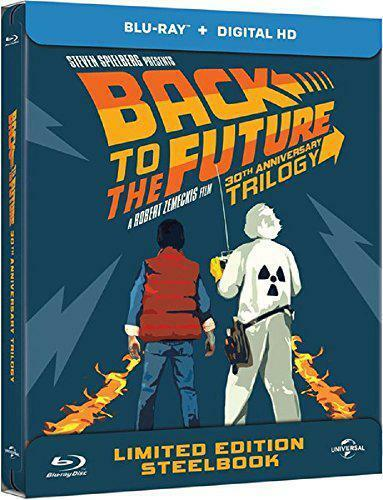 Back to The Future Trilogy - Limited 30th Anniversary Edition Steelbook Boxset B
