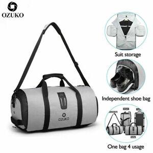 OZUKO-Multifunction-Men-Travel-Bag-Large-Capacity-Waterproof-Duffle-Gym-Bag