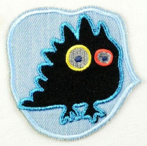 Selbstklebende  Applikation zum Aufbügeln//Kleben Bügelbild 2-245 Vogel