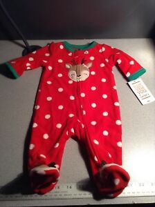 5114de6e0 authentic 19502 e1438 just one you by carters christmas footed ...