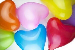 25-4cm-Saint-Valentin-latex-C-urs-Ballons-ballon-fete-amour