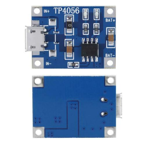 10pcs DIY Practic Micro USB 1A Lithium Battery Charging Board Protection Module