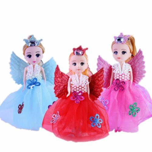 7 Glittering Angels Doll With Wings Toy For Girls Toys Birthday Gift