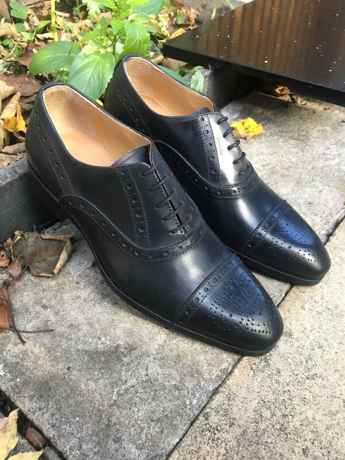 Men's schuhe Casual Lace Up Derby Brogues Formal Casual Casual Casual Oxford Größe UK 7 EU41 New  3b08b3