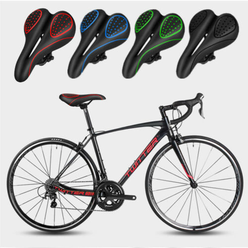 MTB Road Bike Bicycle Cycle Saddle Seat Gel Pad Cover Comfort Silicone Cushion
