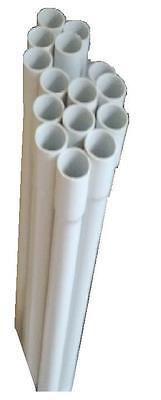 2m Leerrohr 1,71€/m Stangenrohr Stangenleerrohr Rohr mit Muffe Kunststoffrohr