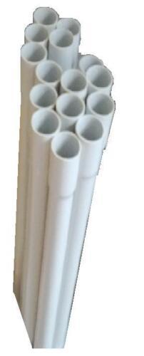 2m Leerrohr 1,71€//m Stangenrohr Stangenleerrohr Rohr mit Muffe Kunststoffrohr