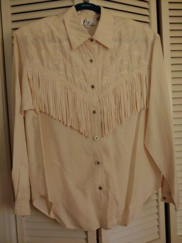 western women's fringe shirt