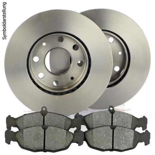 hinten Bremsenset für Audi A6 C4 100 Beläge vorne Reiniger 4 Bremsscheiben