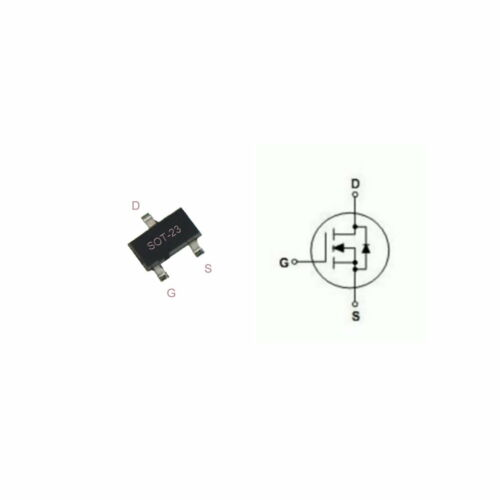 2,5v 5 x irlml 6344 LOGIC LEVEL Power MOSFET N-Channel 30v 5a 29 Mohm sot23
