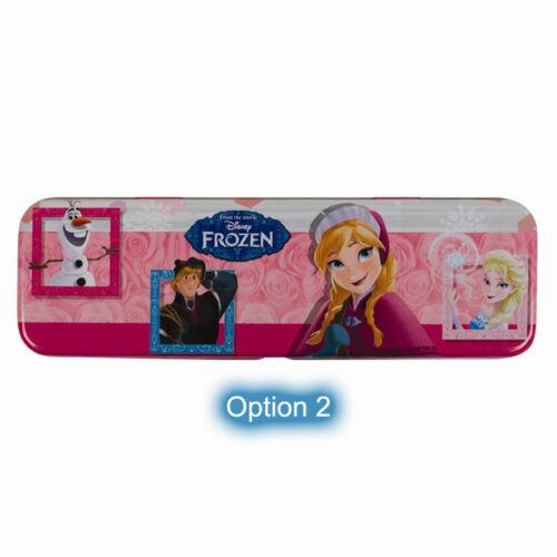 pen pencil Disney Frozen Queen Elsa Olaf Anna Metal Pencil Case 3 ...