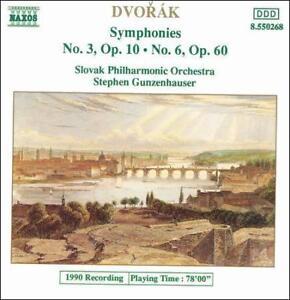 DVOR-K-SYMPHONIES-NOS-3-amp-6-USED-VERY-GOOD-CD