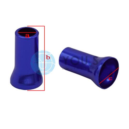 4 Stück YOU.S Alu Rote Ventilhülsen Ventil Abdeckung für Auto PKW LKW NEU