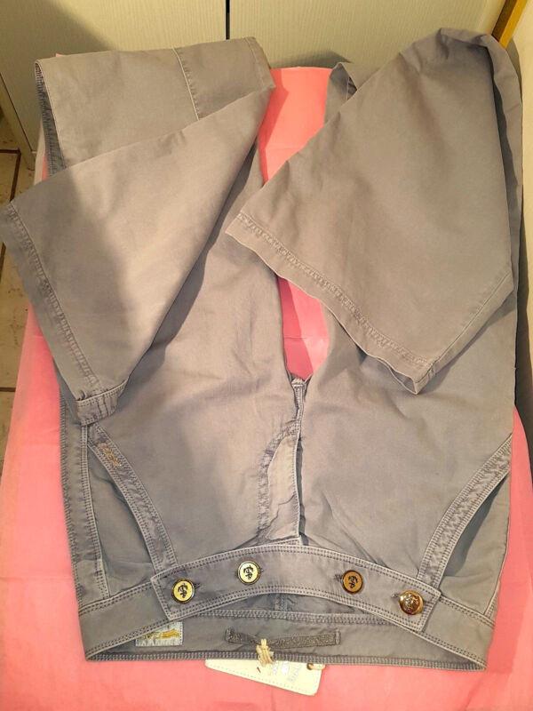 W51-neu Gas 36 38 S Schlag Hose Gr 27 Lang Grau Qualität W30 L36 Denim Jeans Top