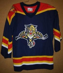 new arrival f695c a2b28 Details about FLORIDA PANTHERS NAVY AIRKNIT NHL JERSEY (Size 48)