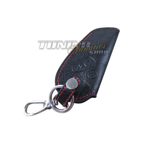 Schlüsseltasche Schlüsseletui Schlüssel Etui Hülle Schale LEDER Rot für Honda