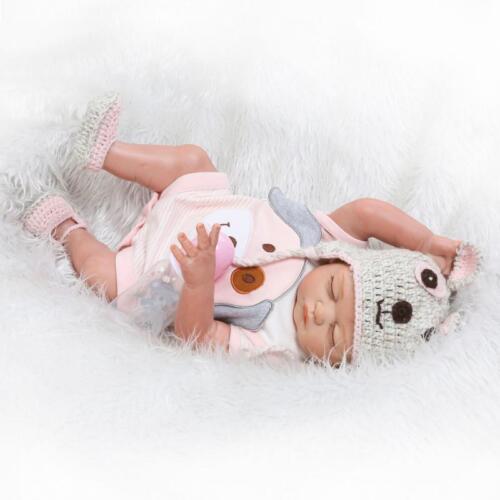 "Girl 20/"" Full Silicone Vinyl Body Reborn Doll Twins Anatomically Correct Boy"