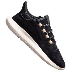68497bf68b220 Das Bild wird geladen adidas-Originals-Tubular-Shadow-Suede-Leder-Sneaker -BY3568-