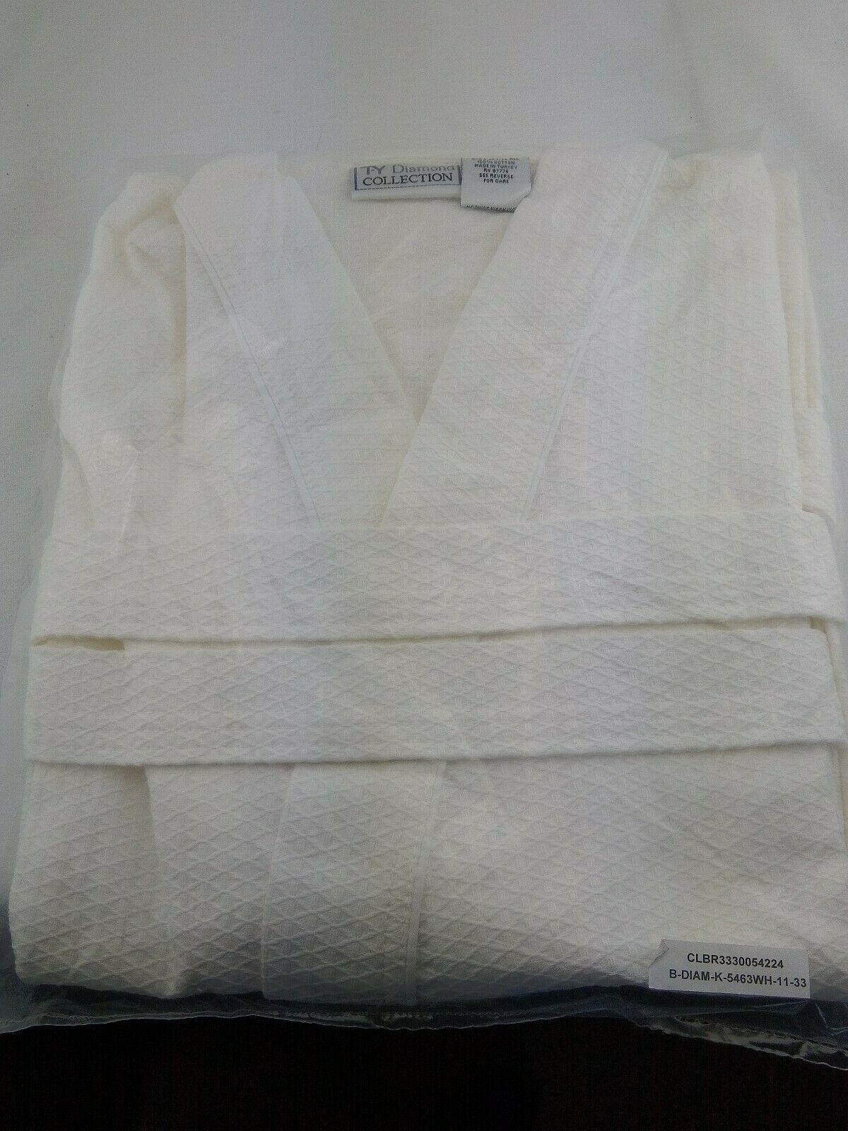 Alan Pendergrass Robes 1732 White 36 In Junior Size Cotton Waffle Robe White For Sale Online Ebay