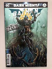 BATMAN THE DROWNED #1 FOIL STAMPED REBIRTH DC COMICS NEAR MINT 10//18//17 METAL